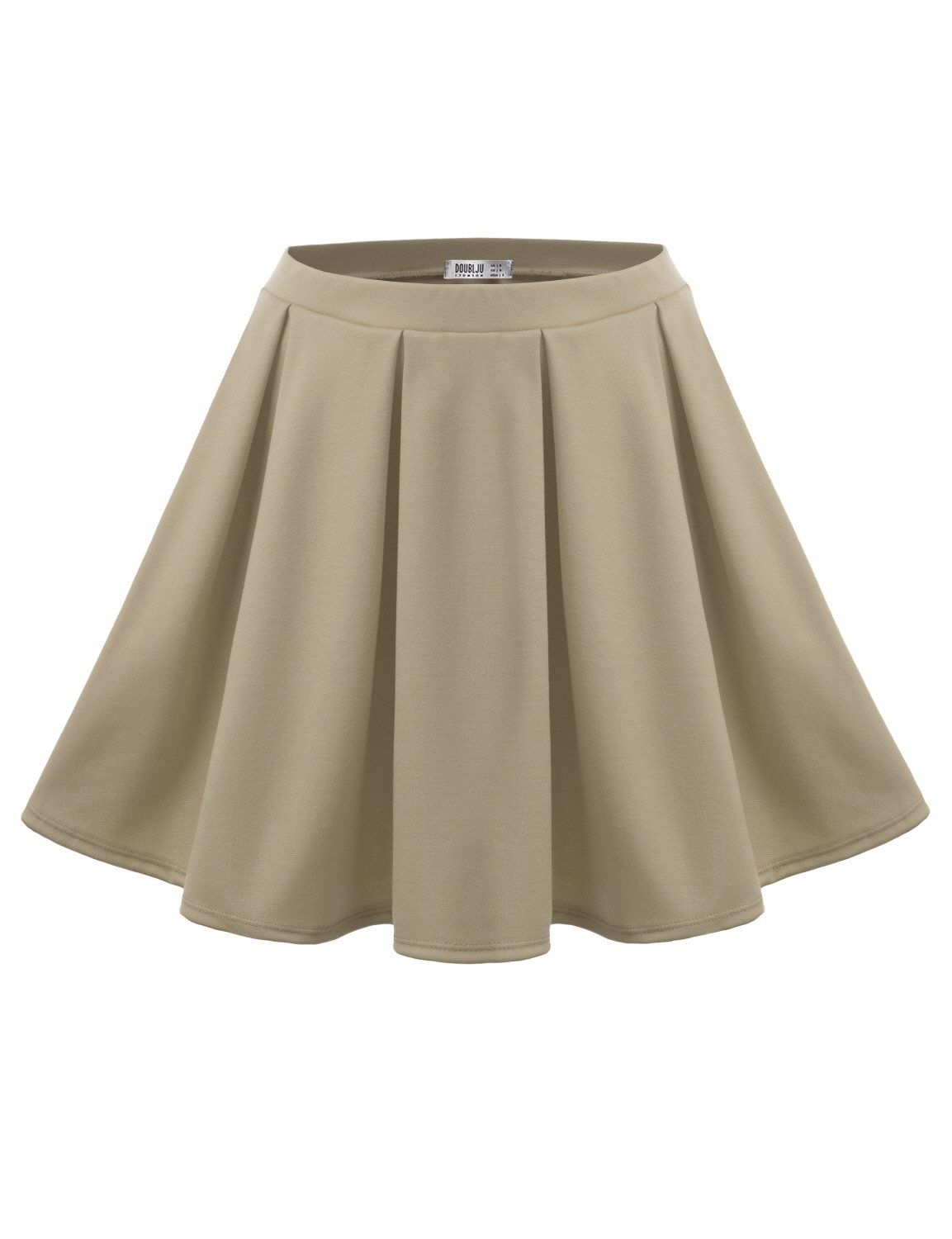J.TOMSON Women's Classy Basic All Around Pleated Skater Skirt at Amazon Women's Clothing store: