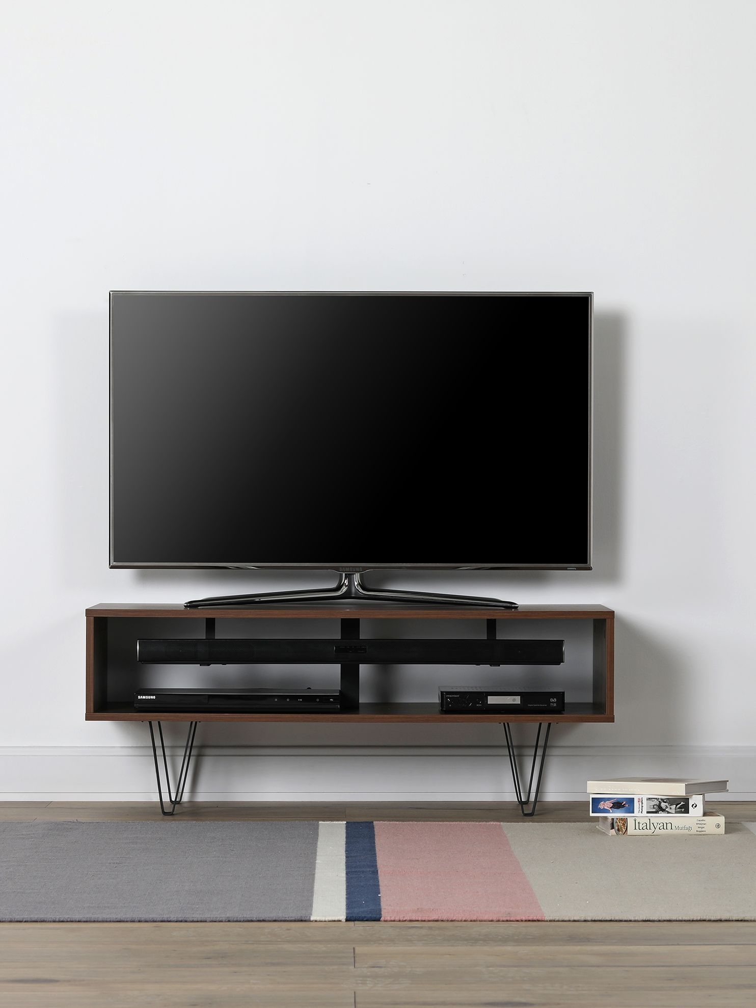 Off The Wall Chevron 1100 Stand For Tvs Up To 55 Off The Wall