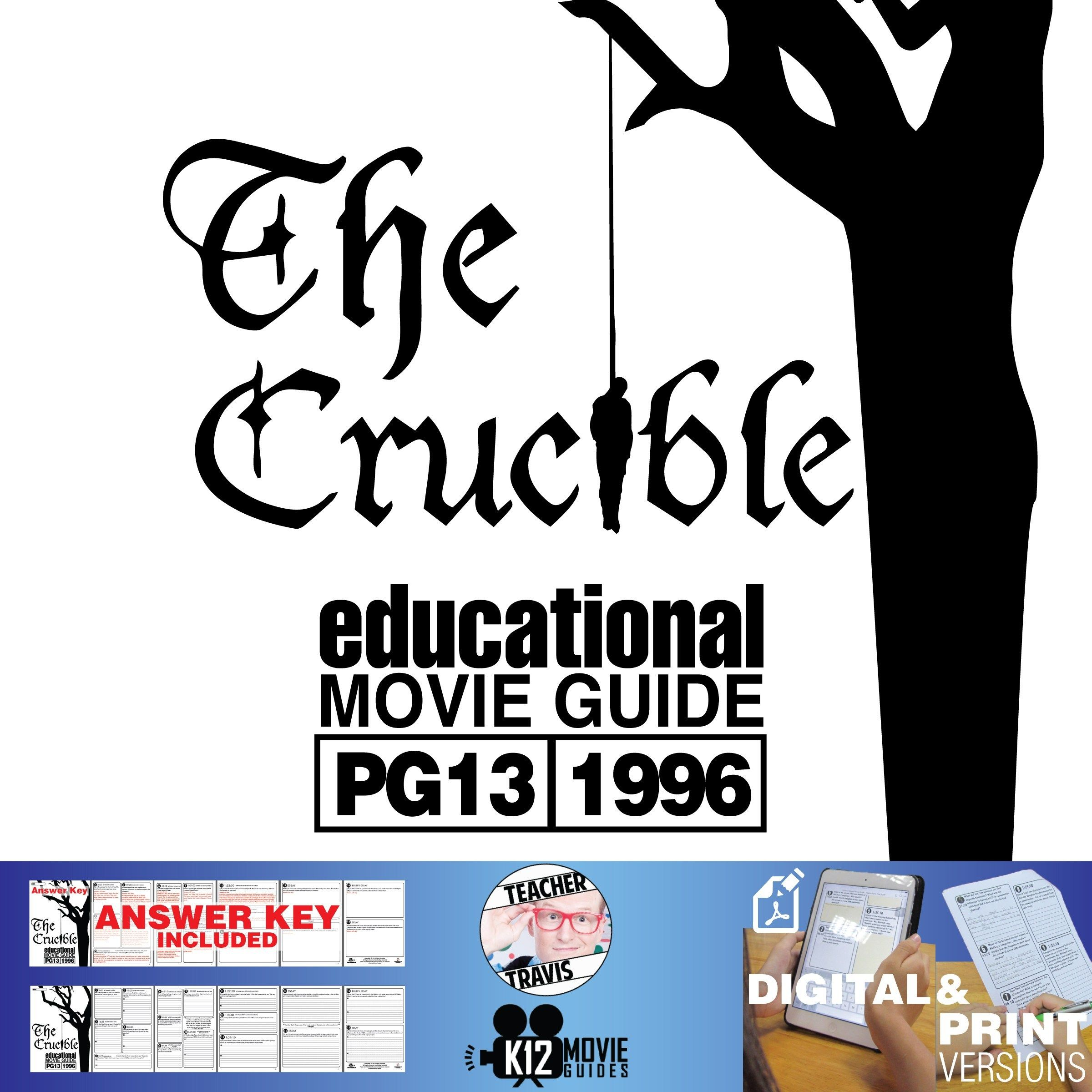 The Crucible Movie Guide