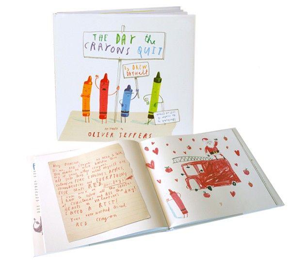 El día que los crayones renunciaron (Drew Daywalt - Oliver Jeffers ...