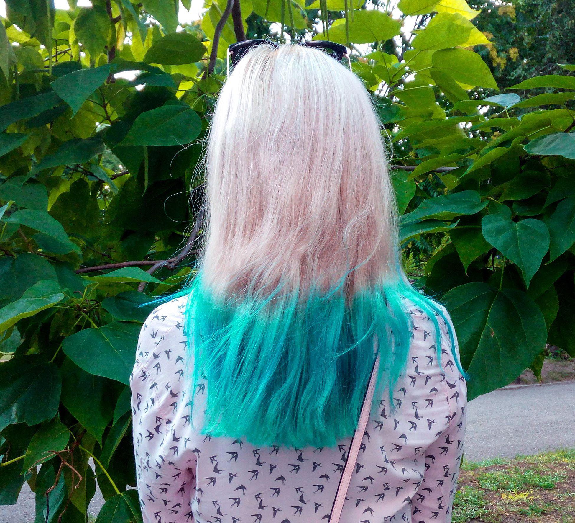мятный цвет волос картинки грузди