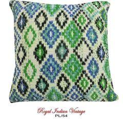 Cotton Pillow Case DIY Home Decor Kantha Cushion Cover PL54