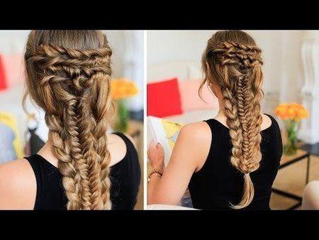 Layered Hair Braid Tutorial - #layeredhair #hairbraid #hairtutorial ...