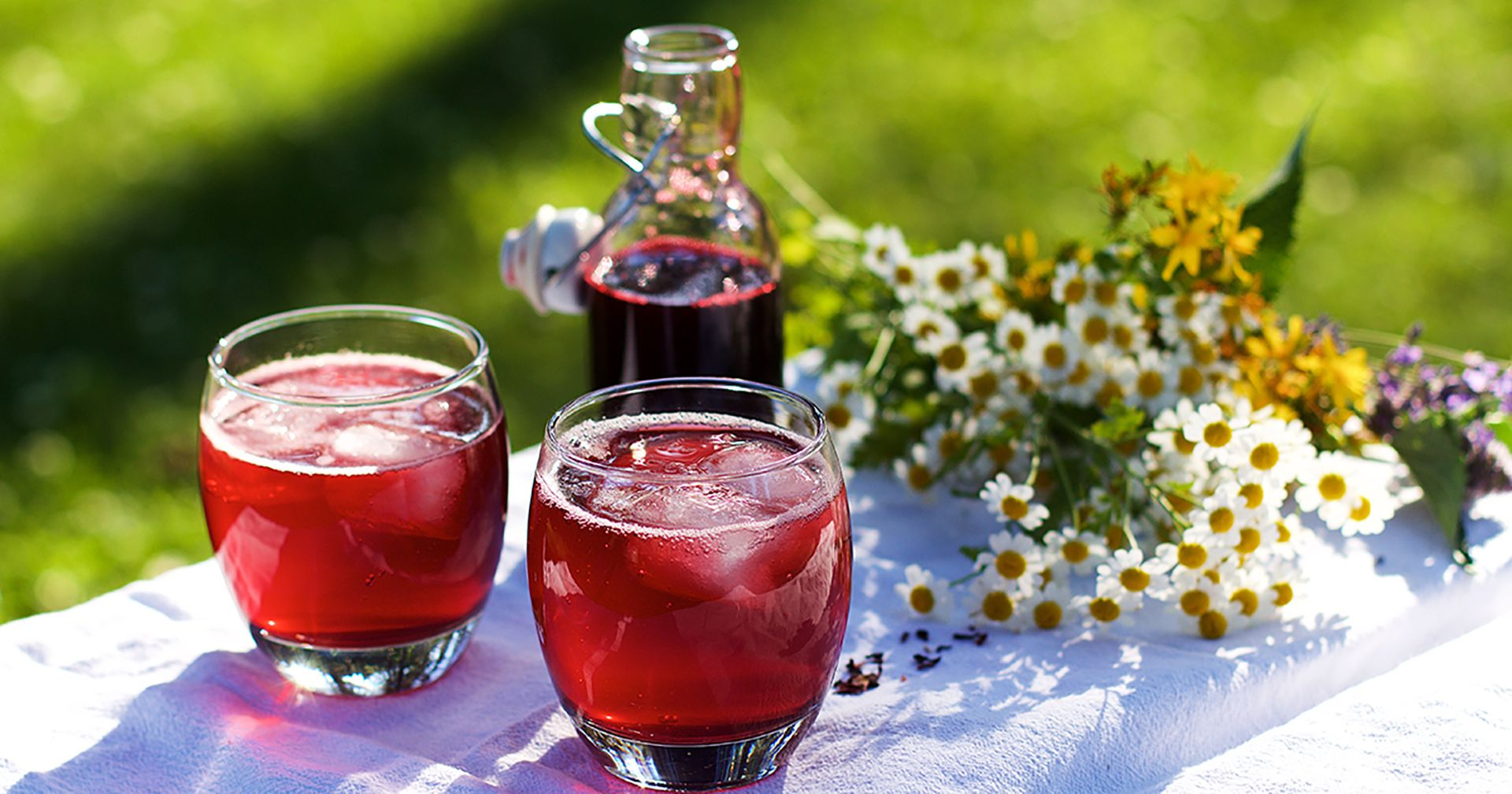 How To Make Your Own Hibiscus Syrup Learningherbs In 2020 Hibiscus Syrup Herbal Drinks Hibiscus Syrup Recipe