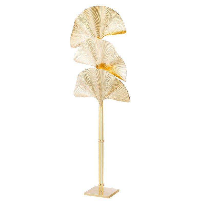 Eichholtz Las Palmas Floor Lamp Gold Gold Floor Lamp Floor