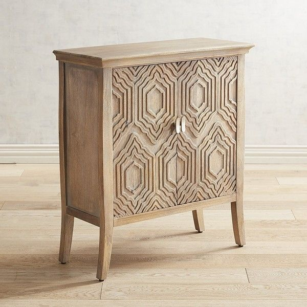 Pier 1 Imports Cantata Chest ($500) ❤ Liked On Polyvore Featuring Home,  Furniture