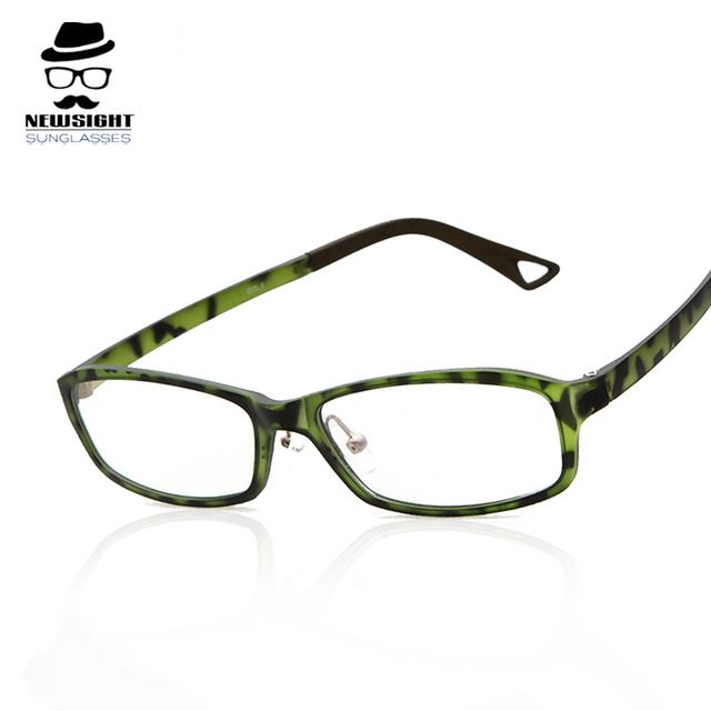 New Sight Clear Fashion Glasses Camouflage Brand New 2016 Women ...