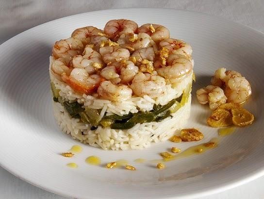 Una idea para comer cualquier día: timbal de arroz basmati con ...