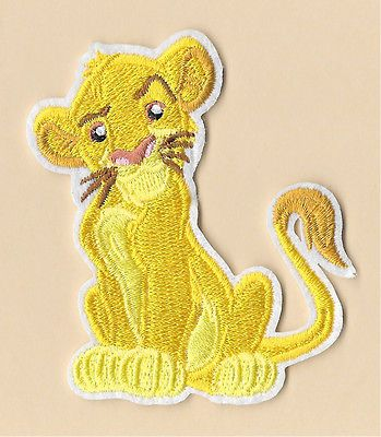 bea38403d68c3 Simba - The Lion King - Lion - Disney - Embroidered Iron On Applique Patch