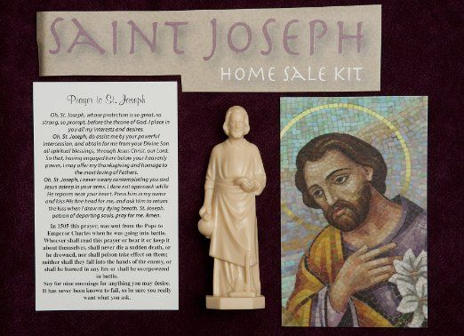 Saint Joseph For Help In Real Estate