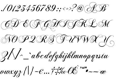 Calligraphy Styles A To Z Fancy Alphabet From