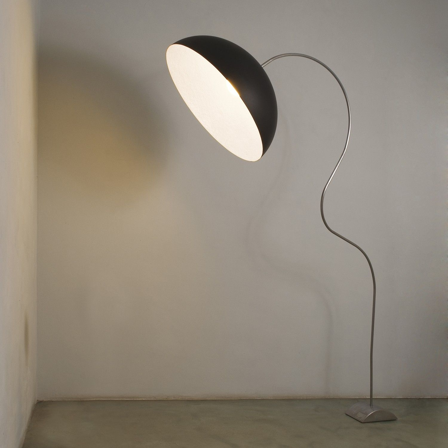 Mezza Luna Piantana Floor Lamp In Es