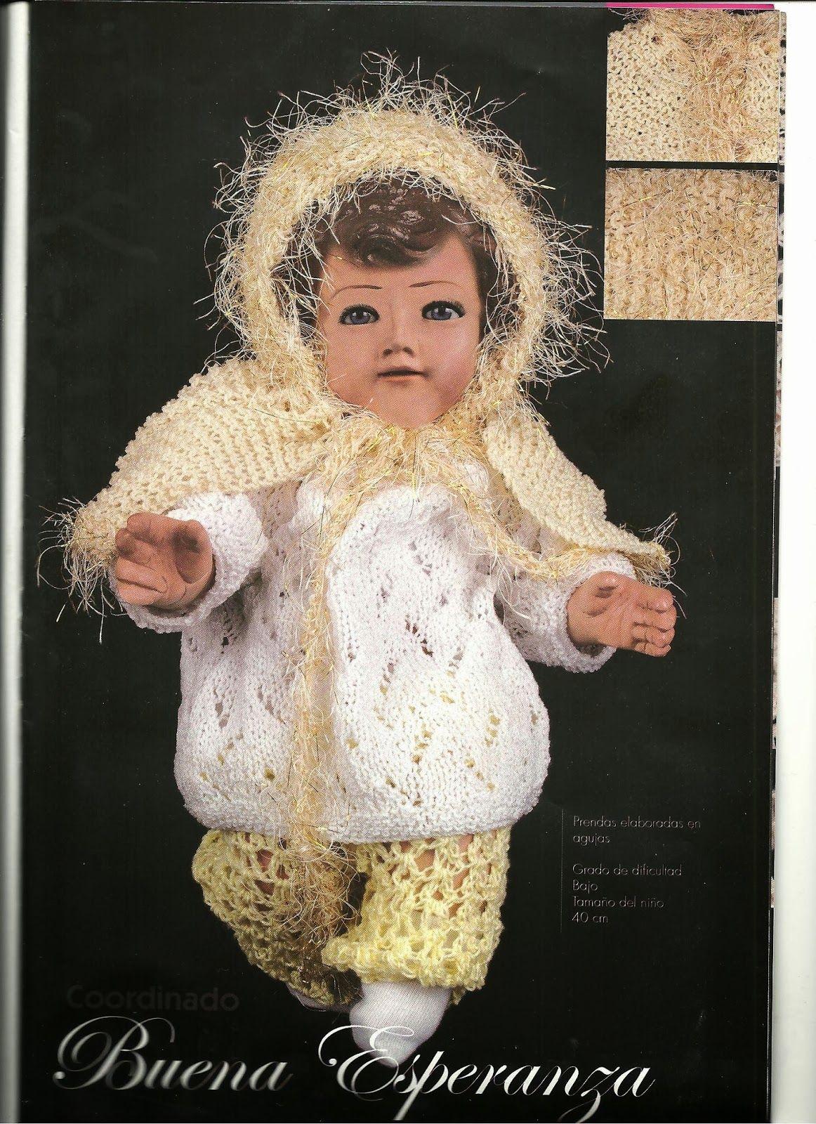 teje vestido de niño dios a gancho esquemas y patrones | tejidos ...
