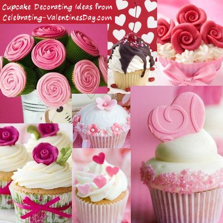 Image detail for -Valentine's Day Cupcake Decorating Ideas from Celebrating ...lower right cupcake idea