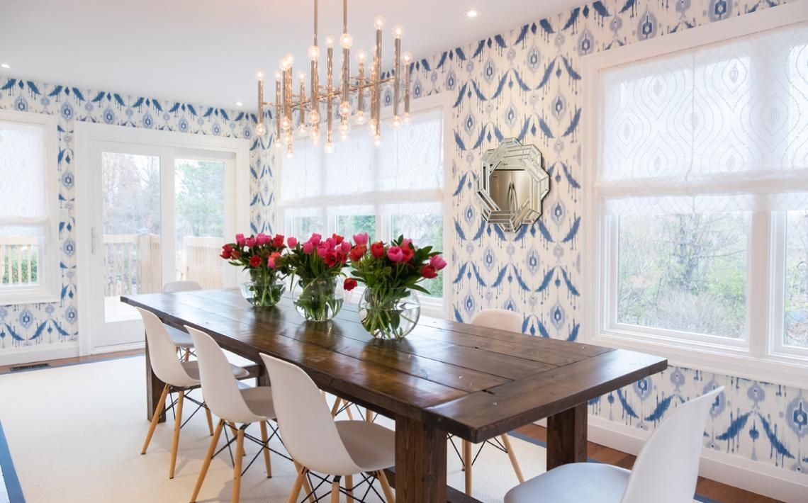 Property Brothers Season 5, Episode 19: Love the patterned wallpaper ...