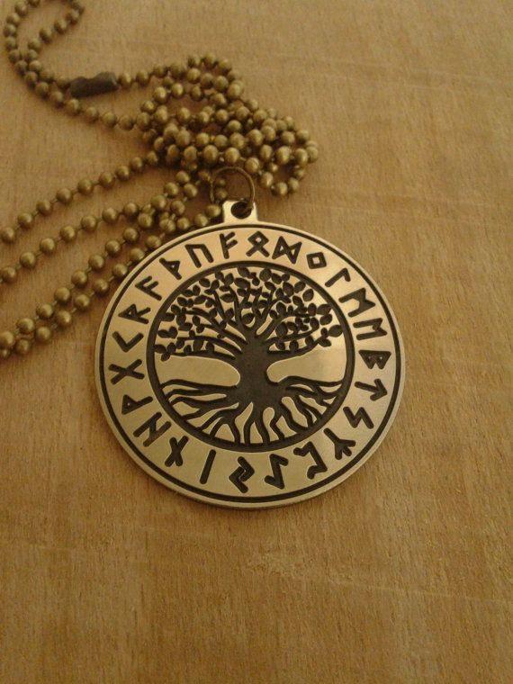 yggdrasil collier rune viking collier arbre de vie pendentif viking celtic arbre du monde la. Black Bedroom Furniture Sets. Home Design Ideas