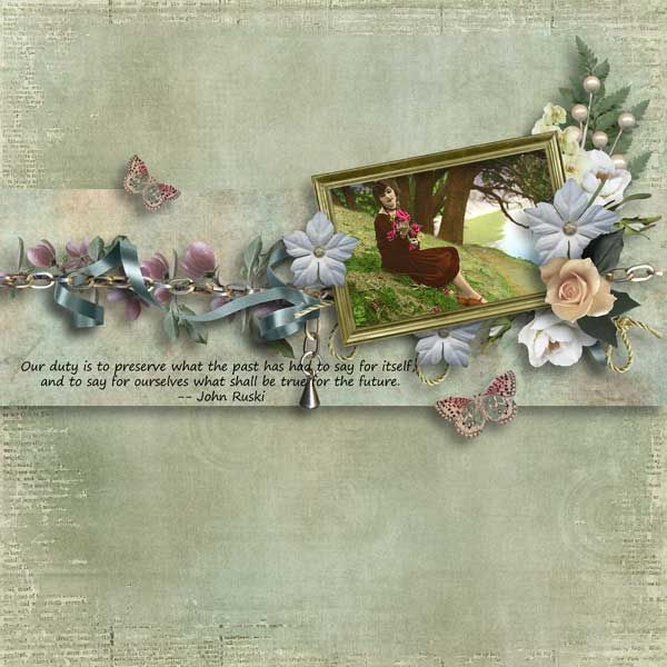 Spring Delights Page Kit by Laitha's Designs   [ link ]