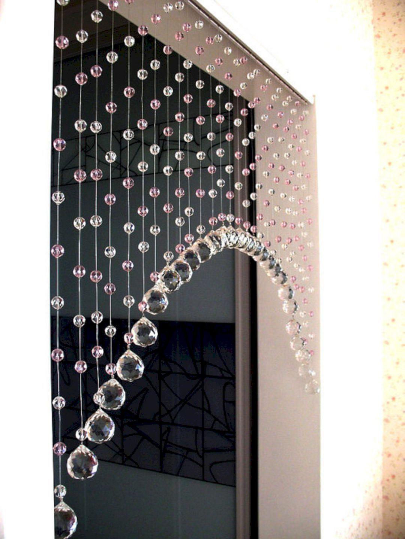 Beautiful curtain princess design ideas 14 beaded