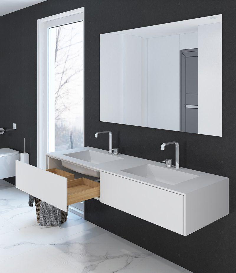 Doppelwaschtisch Unterschrank, Kleines bad renovierungen