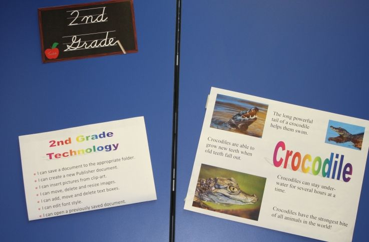Learning Targets and Sample Work - Elementary Tech Teachers