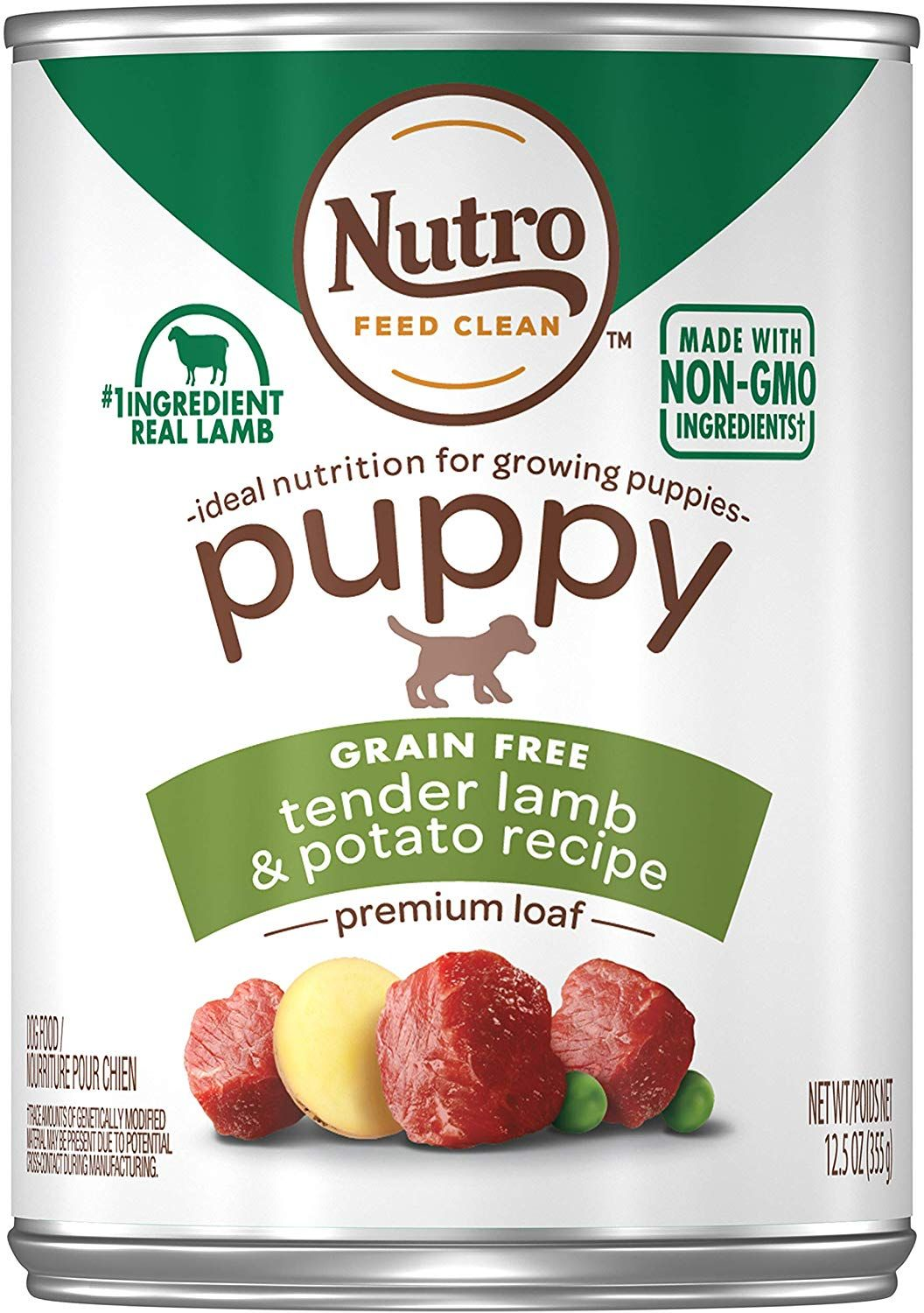Nutro puppy natural wet dog food 12 125 oz cans dog