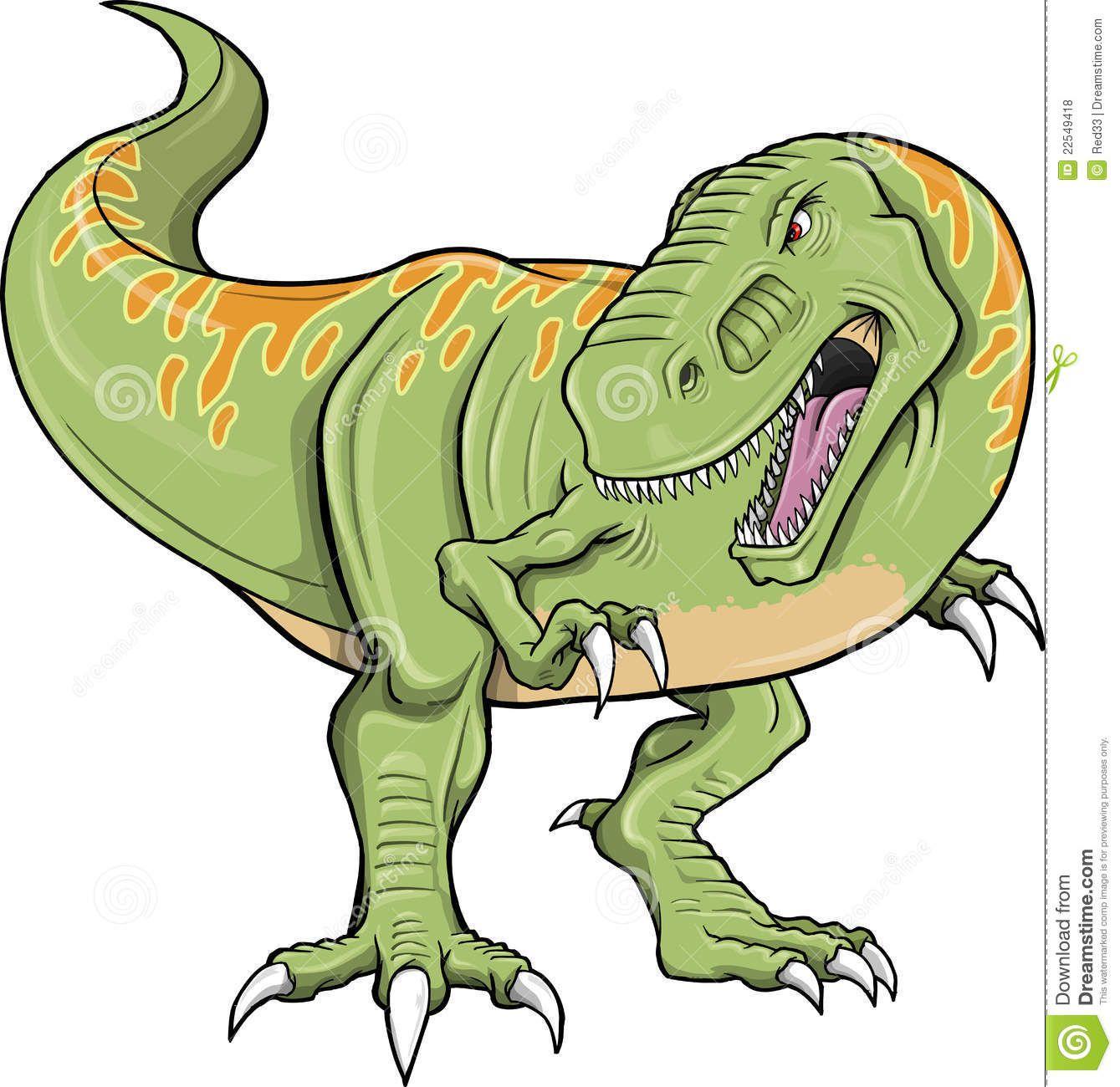 Tyrannosaurus Rex Dinosaur Vector Royalty Free Stock Photo - Image ...