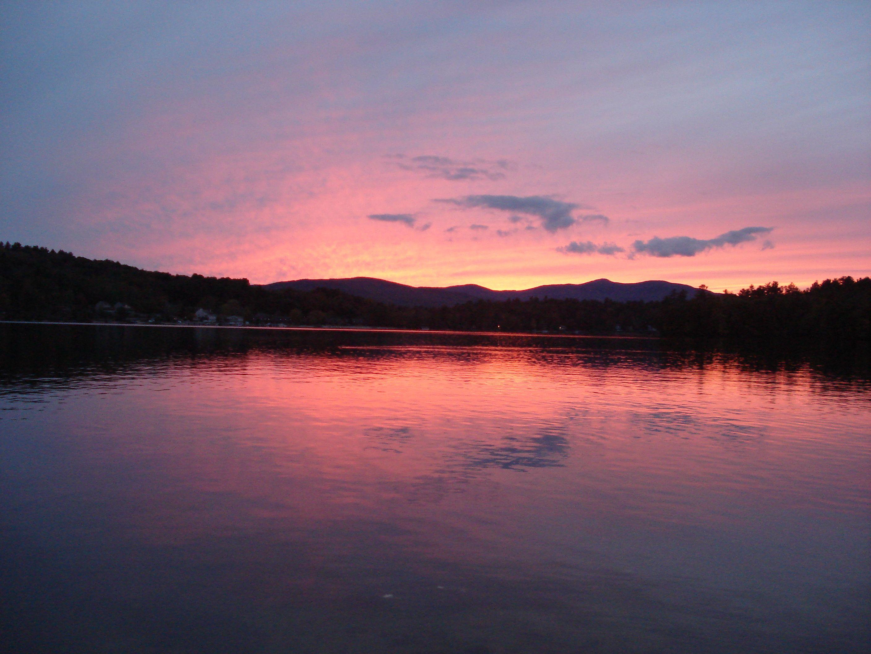 New Hampshire sunset! Sunset, New hampshire, Outdoor