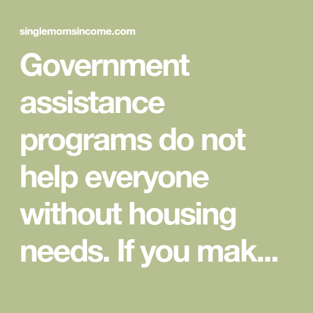 Housing Help For Single Moms Part 2 Private Assistance Already