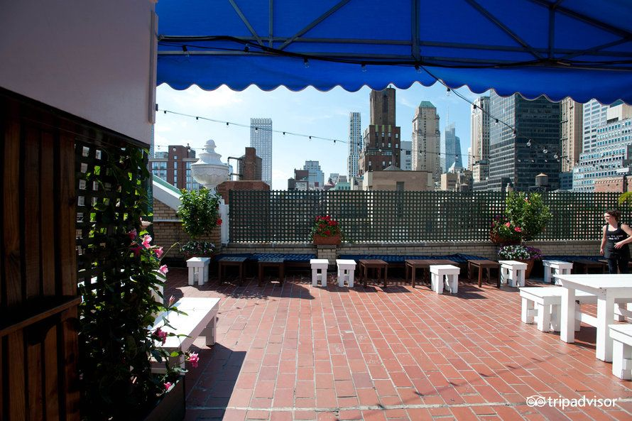 rare view affinia shelburne nyc rooftop bars pinterest