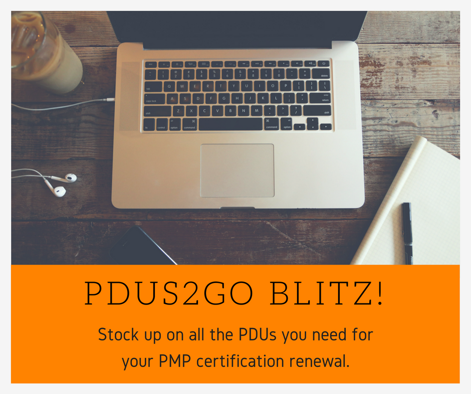 Stock Up On All Pdus You Need For Your Next Pmp Certification