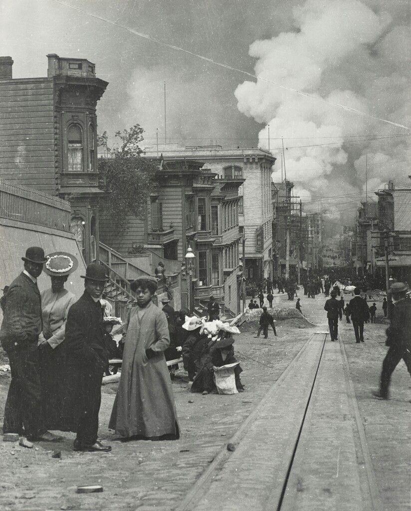 Black residents of San Francisco Great Earthquake