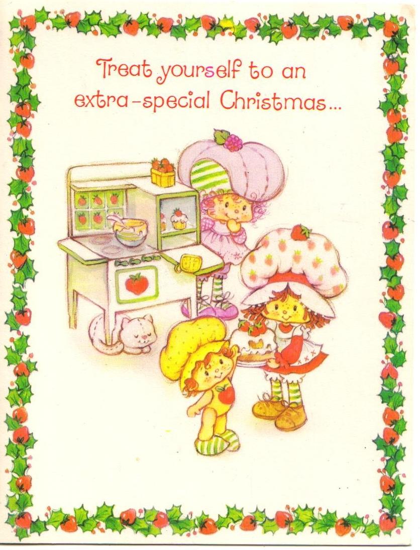 Strawberry shortcake raspberry tart apple dumplin baking christmas strawberry shortcake raspberry tart apple dumplin baking christmas card m4hsunfo