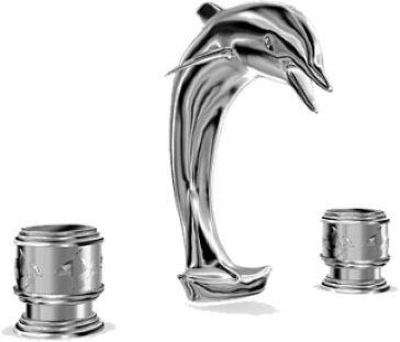 Altmans Dolphin R32 Widespread Lavatory Set Do10r32 Faucet