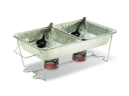 Disposable Chafing Pans, Disposable Buffet Warmers