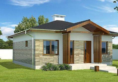 modelos-de-porches-para-casas-pequenas-modernas #Modelosdecasas