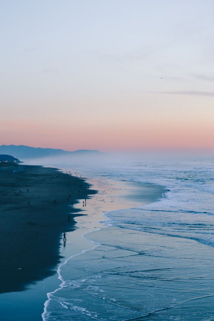 Ocean Beach Sunset San Francisco Prosecco Plaid Travel Let S Go Somewhere Pinterest And