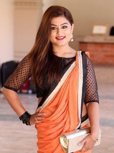 Nepali Heroine Nepaliheroine  Twitter  Fashion, Saree -6907