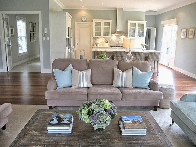 Open Concept Kitchen Living Room Design Ideas By Kimara