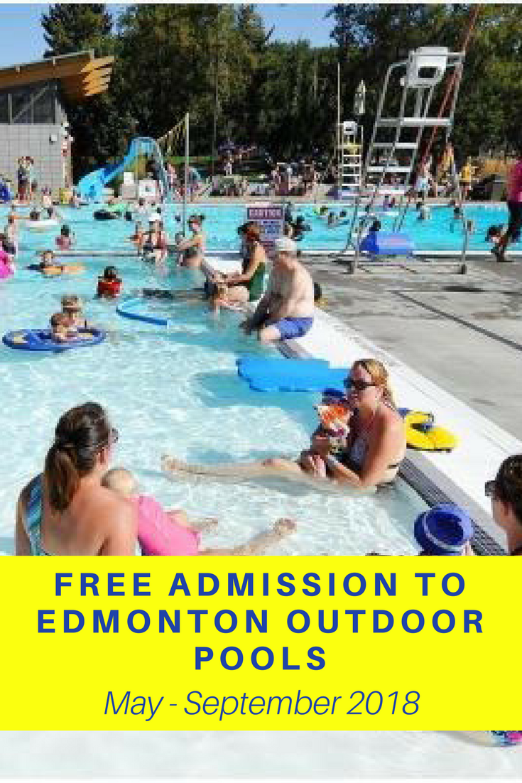 Get Free Admission To Edmonton Outdoor Pools May Sept - Indoor Pools Edmonton