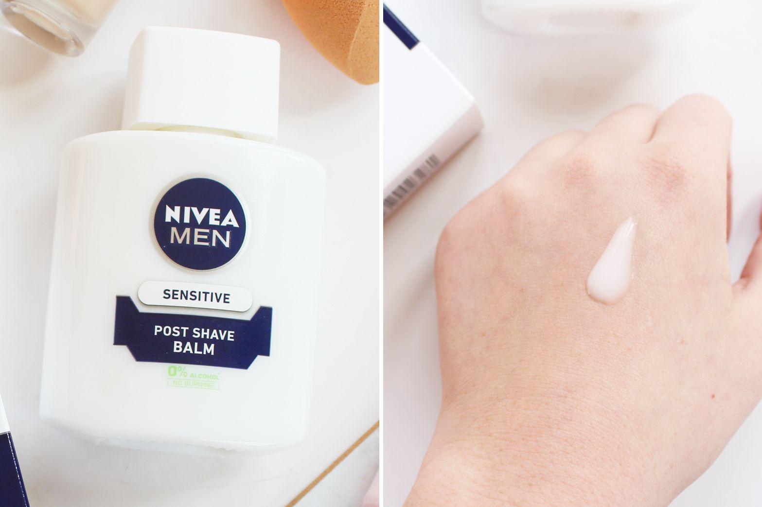 Can A Mens Post Shave Balm Really Work As Primer Make Up Likes Moreskin Loose Powder Ivory Bright Nivea