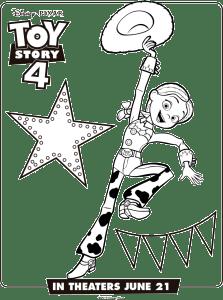Toy Story 4 Dibujos Para Imprimir Jessy La Vaquerita Toy Story Coloring Pages Disney Coloring Pages Coloring Pages