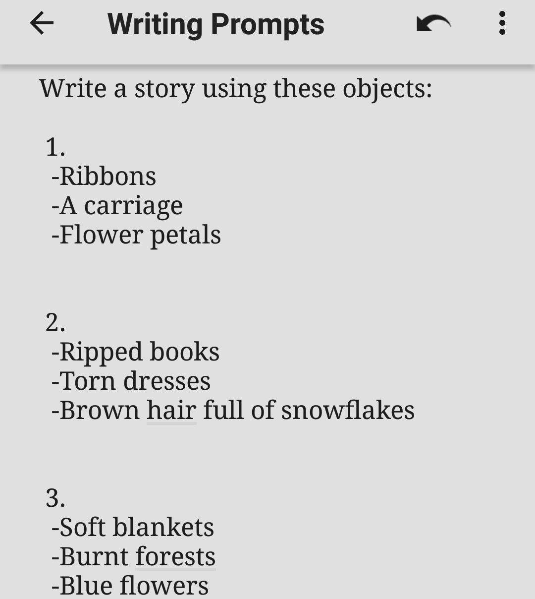 Help writing short stories