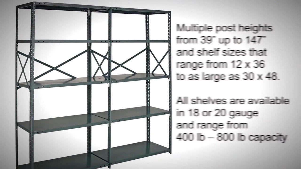 Industrial Heavy Duty Open Steel Shelving | Industrial Storage ...