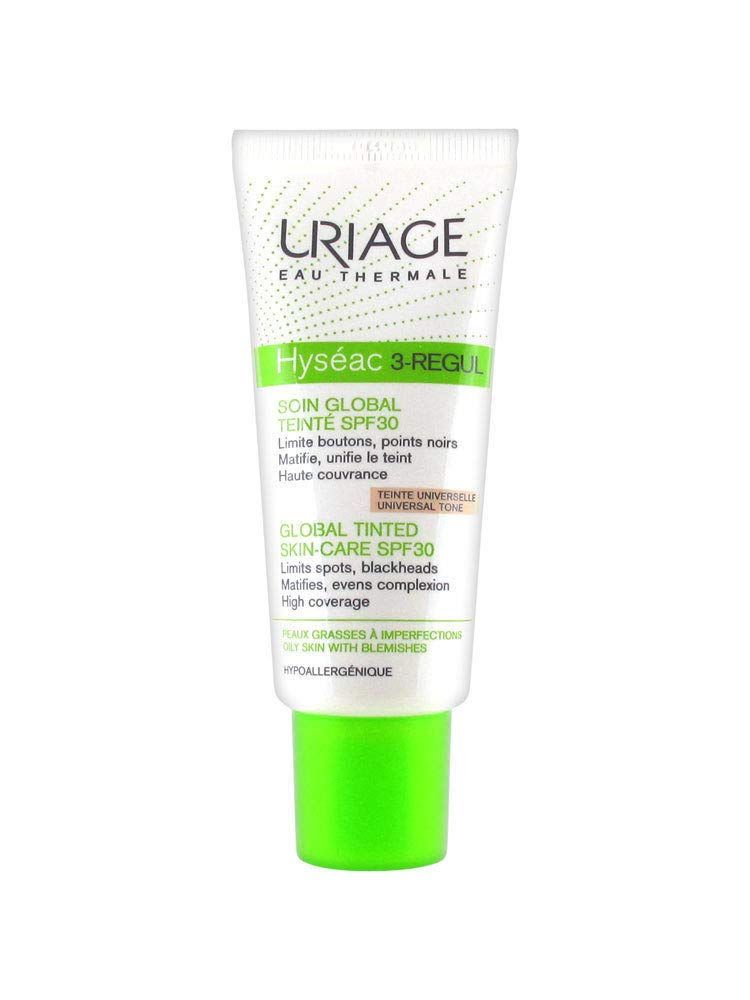 Uriage Hyseac 3 Regul Global Tinted Skin Care Spf 30 40ml Oily Skins Facial Care Gift More Info Could Be Found In 2020 Spf Skincare Facial For Oily Skin Oily Skin