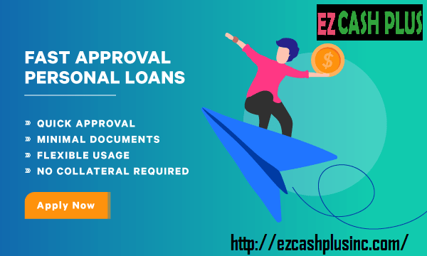 Get Your Cash Fast With A Ezcashplusinc Services Which Give You