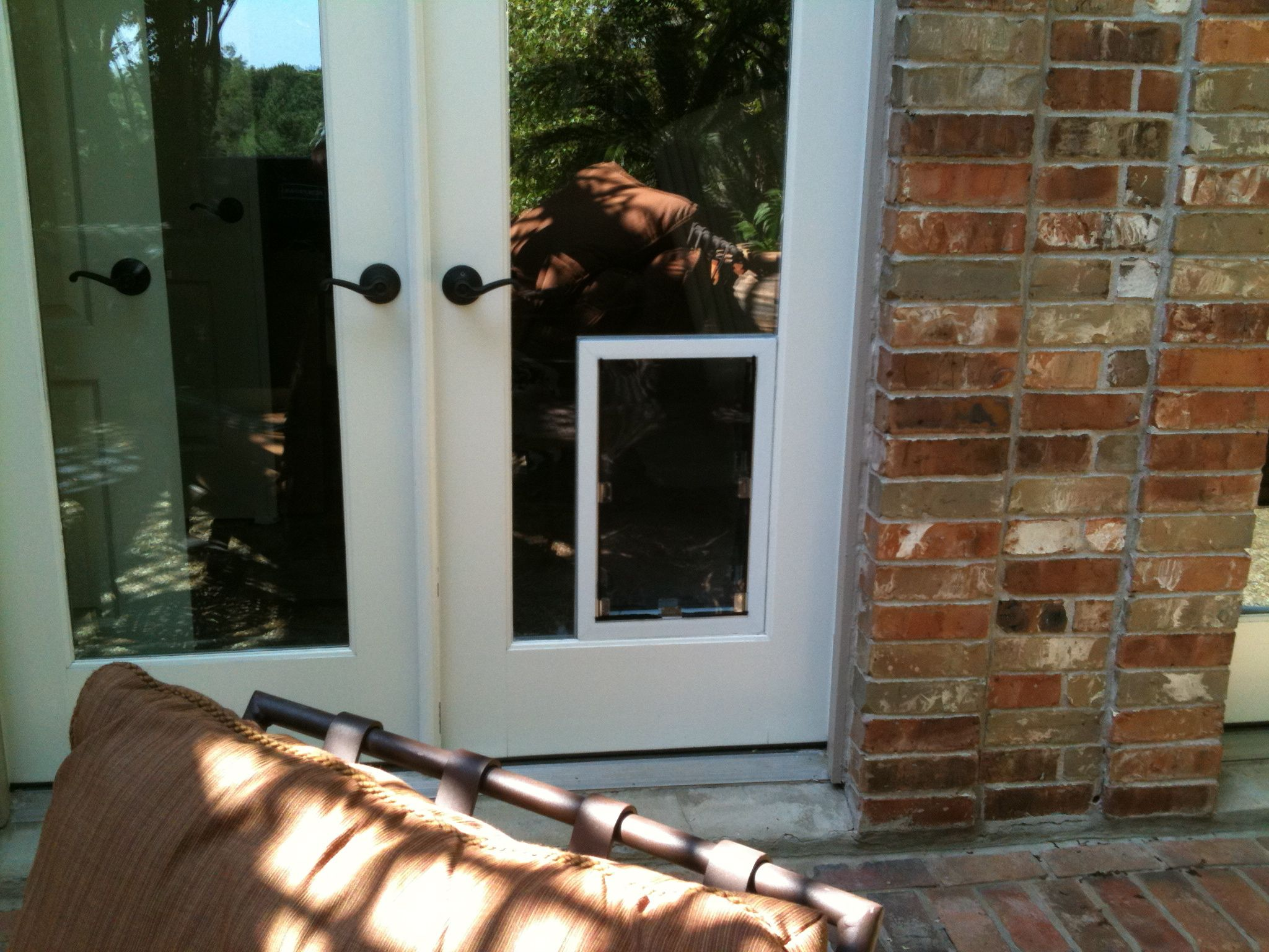 Dog Door In Glass   All Are Premium Pet Doors Manufactured By Hale Pet Door  In