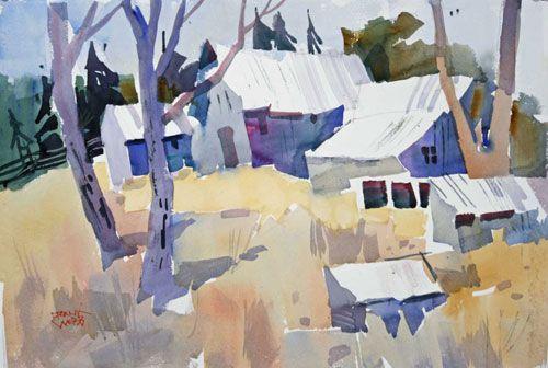 Frank Webb Artist Contemporary Watercolor