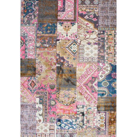 nuLOOM Machine-Made Donnelly Area Rug or Runner, Multicolor