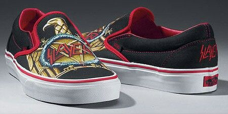 Slayer limited edition Vans | Vans, Bmx shoes, Vans shoes