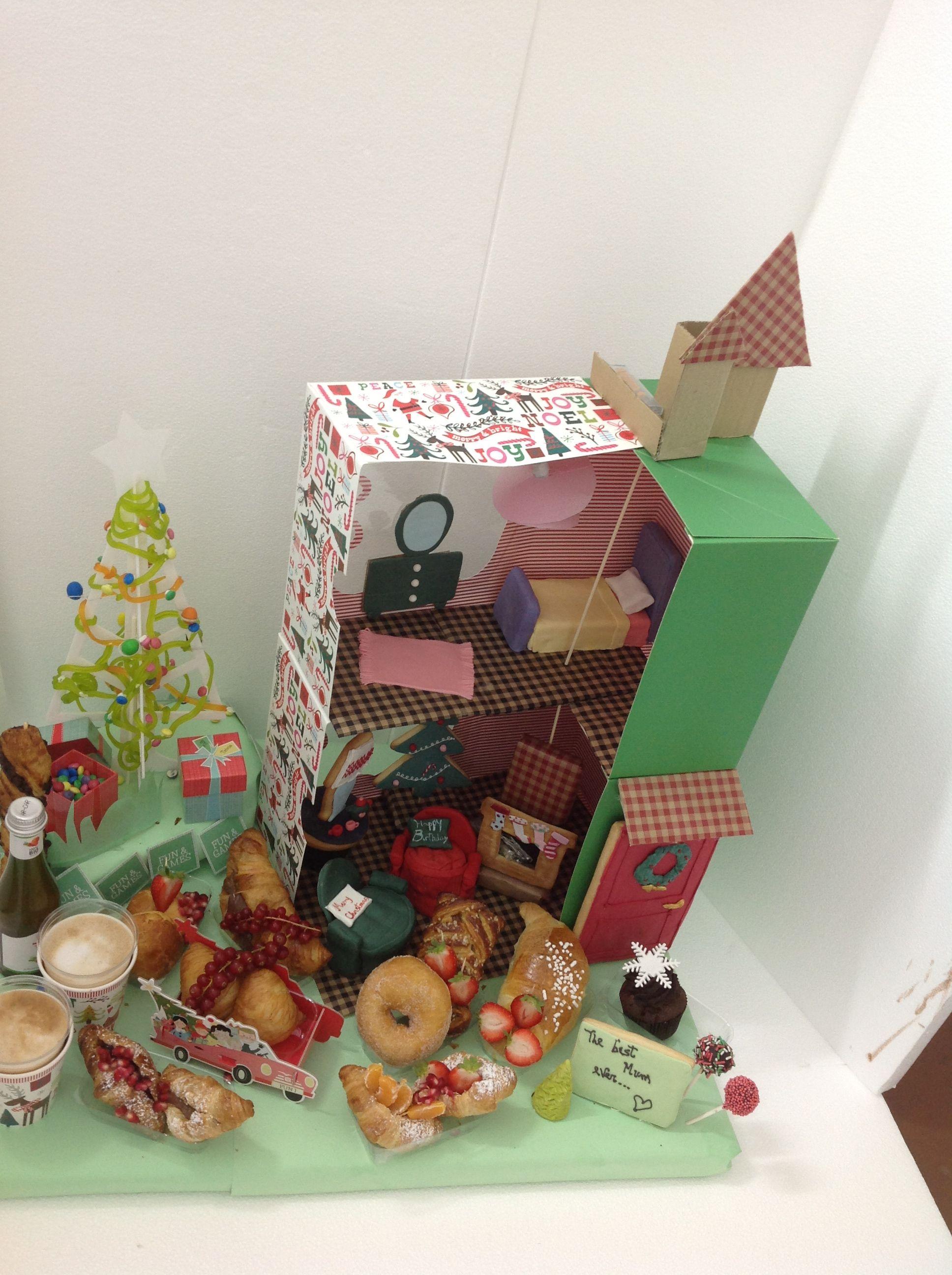 Santa's GIFT Today #Christmas #Greeting #christmasbreakfast ... I love our #new Double Floor #breakfast#doorBiscuit#RedDoor#Cookies#chistmashouse#santa#christmasgift #Dolls#Chococale#croissant#muffin#sfogliatella#funny#redDoor#Biscuit#sofacupcakes #cupcakes#cornetto#ballerina#MashmellowTree#Smarties#colazione#sessaspecialeventandcakes #sessaartigianidelgusto#Chimney##SittingRoom#AirmChairCupcake#donuts#ChristmasTree#Pomegrade#bedBiscuit